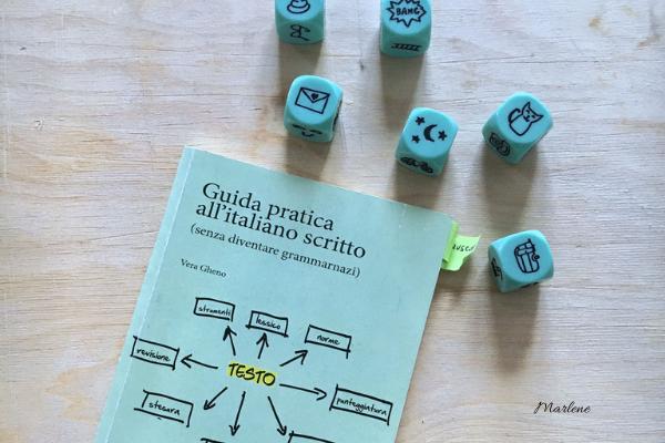 libro guida all'italiano scritto e dadi racconta storie