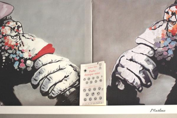 libro fra due quadri