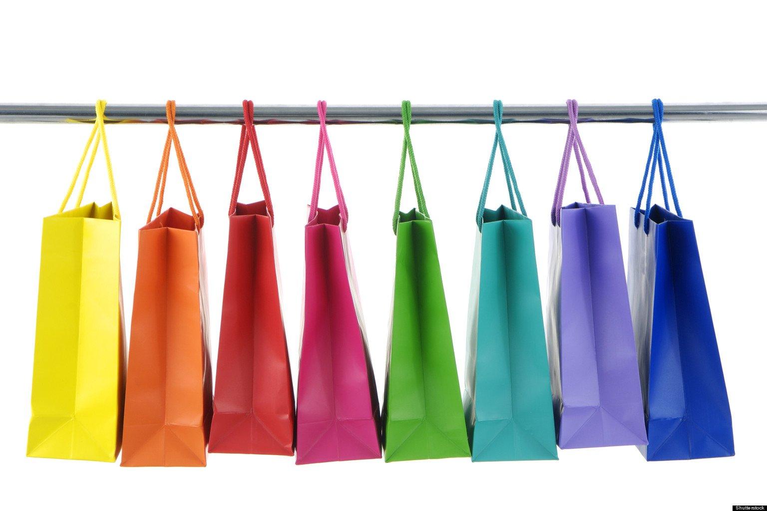 tracce di shopping selvaggio